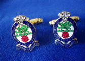 PRINCESS OF WALES'S ROYAL REGIMENT ( PWRR ) CUFF LINKS